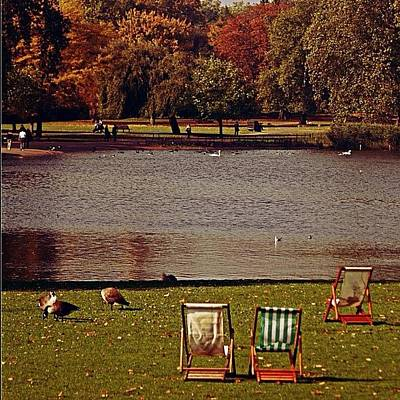 #photooftheday #london #regentspark Art Print