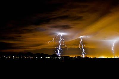 Phx Night Lightning #1 Original by Kenny Jalet