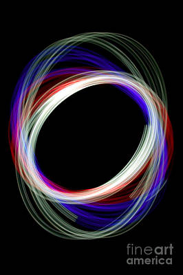 Kinetic Art Photograph - Physiogram 2 by Richard Thomas