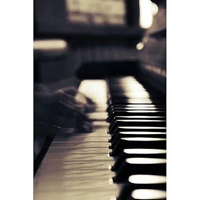 Piano Wall Art - Photograph - Piano || Lurpisdesign @ Facebook by Robin Hedberg