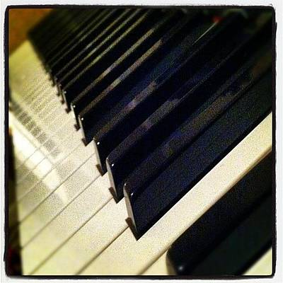 Piano Wall Art - Photograph - #piano #instacool #instaphoto by April J