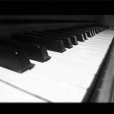 Piano Wall Art - Photograph - #piano #love #passion #ivory by Cai King-Young