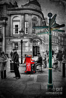 Photograph - Piano Man by Yhun Suarez
