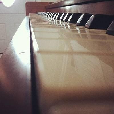 Classical Wall Art - Photograph - #piano #music #notes #keys #instrument by Jenni Munoz