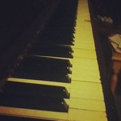 Piano Wall Art - Photograph - #piano #music #play #edit #keys #player by Jamiee Spenncer