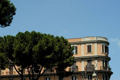 Piazza Cavour Art Print