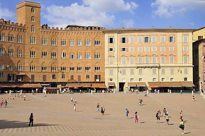 Photograph - Piazza Del Campo Square Siena Italy by Matthias Hauser