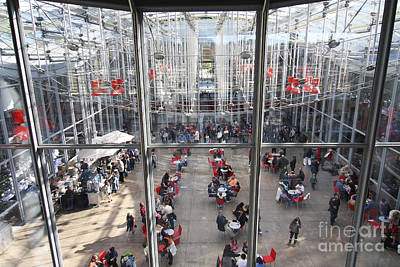 Renzo Piano Photograph - Piazza In The California Academy Of Sciences In San Francisco . 40d4288 by Wingsdomain Art and Photography