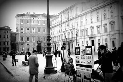 Piazza Navona Art Print by Kevin Flynn