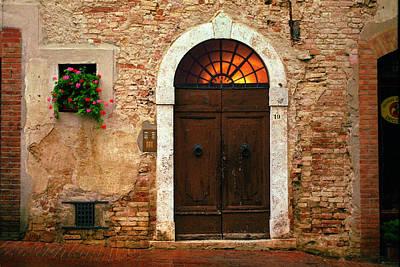 Photograph - Piazza San Agostino by John Galbo
