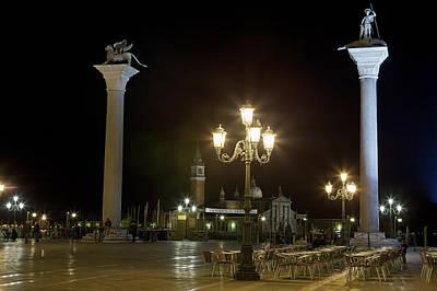 Piazza San Marco Photograph - Piazzetta San Marco - Venice by Joana Kruse