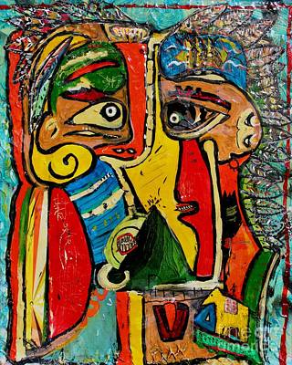 Picasso Indians Art Print