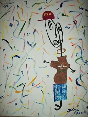 Digital Manipulation Painting - Picasso Jimi by Jimi Bush