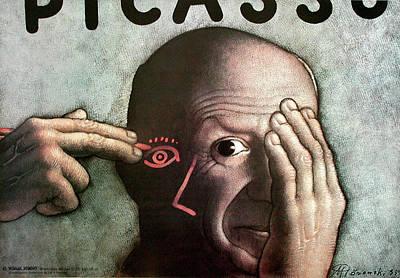 Mixed Media - Picasso by Mieczyslaw Gorowski