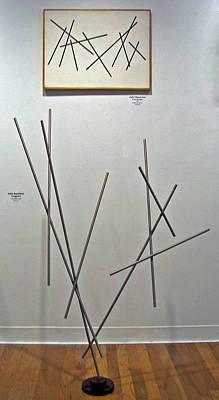 Sense Of Movement Painting - Pick Up Sticks And Thunderbird by John Neumann