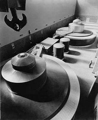 Pickwick Dams First Turbine Generators Art Print by Everett