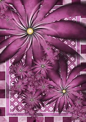 Digital Art - Picnic Pink by Karla White
