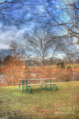 Photograph - Picnic Table by Jeremy Lankford