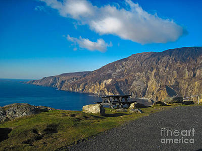 Picnic Time At Slieve League Ireland Art Print by Black Sun Forge