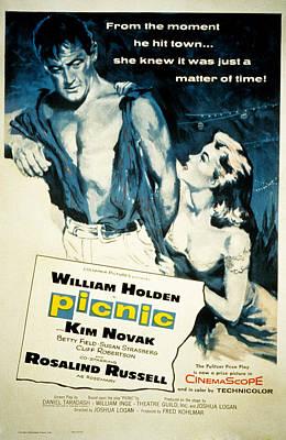 Picnic, William Holden, Kim Novak Print by Everett