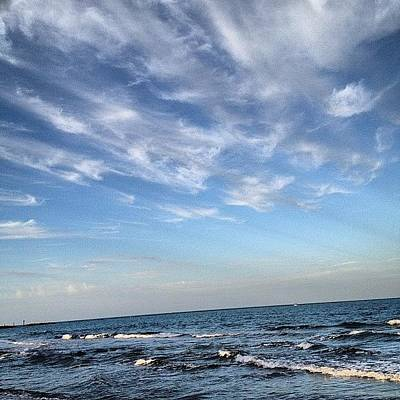 Iphone 4s Photograph - Picture 1 Of Our Walk Today #beach by Emily W