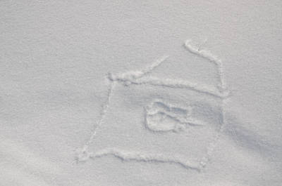Photograph - Picture On The Snow by Michael Goyberg