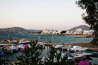 Photograph - Picturesque Paros Island by Lorraine Devon Wilke