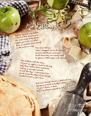 Pie Filling Art Print