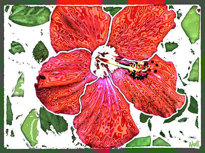 Pieces Art Print by Marilyn Atwell
