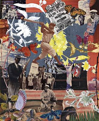 Negro Mixed Media - Pieces Of A Dream Players by Stacey Delaney