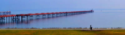 Photograph - Pier In Sfo by Rima Biswas