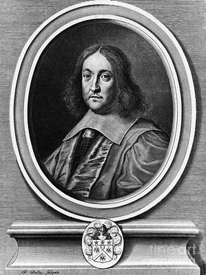 Analytic Photograph - Pierre De Fermat, French Mathematician by Photo Researchers, Inc.