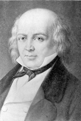 Pierre Jean De B�ranger 1780-1857 Art Print by Everett