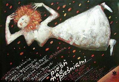 Mixed Media - Piesn Nad Piesniami by Mieczyslaw Gorowski
