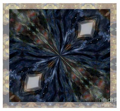 Pietersite Gemstone Mandala - 1 Art Print
