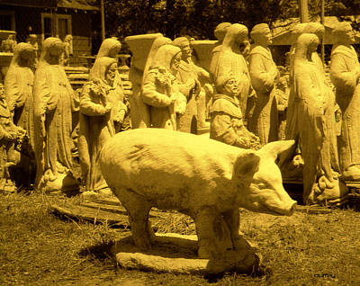 Photograph - Pig Mary And Saints by Doug Duffey