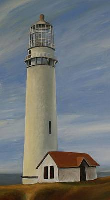 Painting - Pigeon Point 6 by Robert Foss