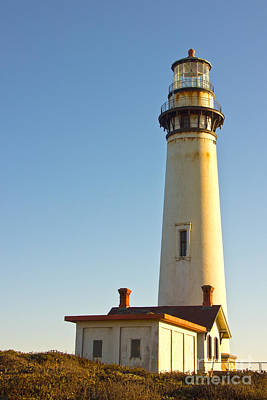 Photograph - Pigeon Point Lighthouse by Paul Topp