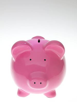 Piggy Bank Art Print by Tek Image