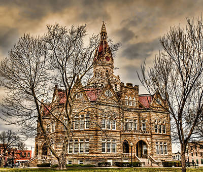 Pike County Courthouse Original by Donna Caplinger