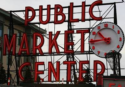 Photograph - Pikes Market by Bruce Bley