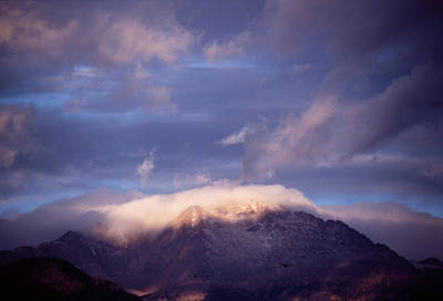 Photograph - Pikes Peak Storm Cloud by John Brink