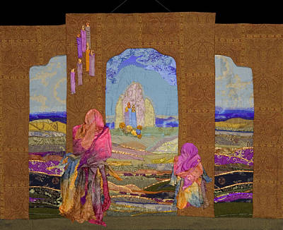 Tapestry - Textile - Pilgrimage by Roberta Baker