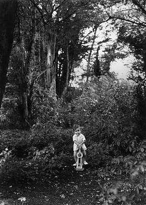 2 Solitudes Photograph - Pilgrim's Way by Sasha