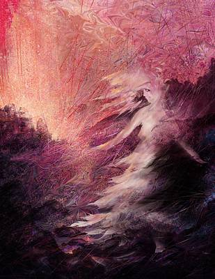 Punishment Digital Art - Pillar Of Salt by Rachel Christine Nowicki