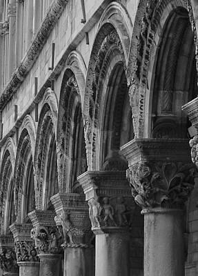 Photograph - Pillars Of Dubrovnik by Ramona Johnston