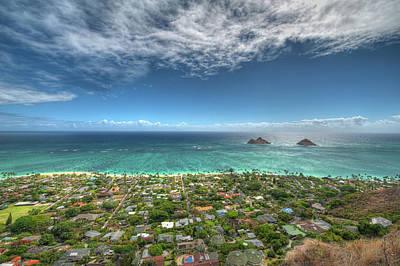Photograph - Pillbox View Of Mokulas by Dan McManus