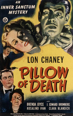 Postv Photograph - Pillow Of Death, Lon Chaney, Jr by Everett
