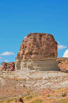Photograph - Pilot Butte Rock Formation I by Donna Greene
