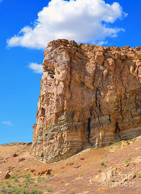 Photograph - Pilot Butte Rock Formations IIi  by Donna Greene